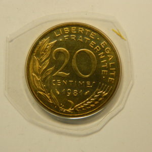 20 Centimes Marianne 1981 FDC EB90890