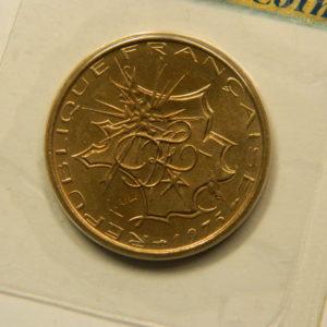 10 Francs Mathieu 1975 FDC EB90898