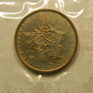 10 Francs Mathieu 1974 FDC EB90899