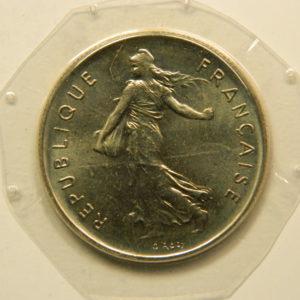 5 Francs Semeuse  1975 FDC EB90901