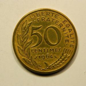 50 Centimes Marianne 1964  SUP EB90909
