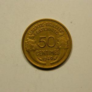 50 Centimes Morlon 1940 TTB EB90915