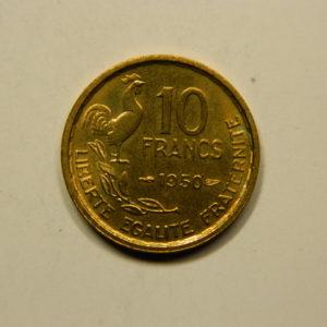10 Francs Guiraud 1950 SUP EB90918