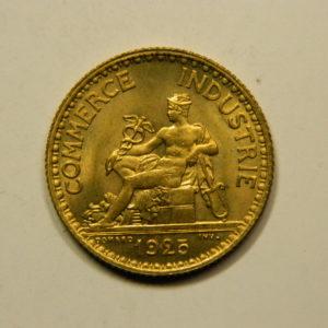 1 Franc Chambre de commerce 1925 SPL EB90925