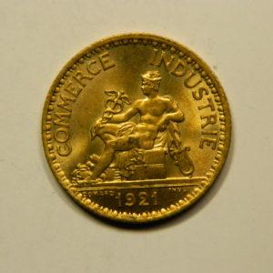 1 Franc Chambre de commerce 1921 SPL EB90928