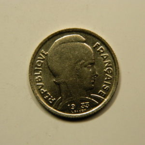 5 Francs Bazor 1933 SUP EB90939