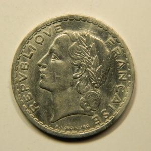 5 Francs Lavrillier 1948 TTB EB90945