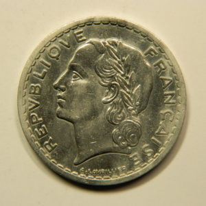 5 Francs Lavrillier 1947B SUP EB90946