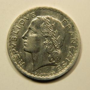 5 Francs Lavrillier 1947B SUP EB90947