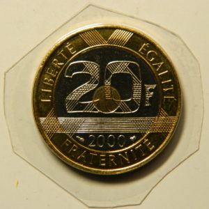 20 Francs Mont St Michel 2000 FDC  EB90960