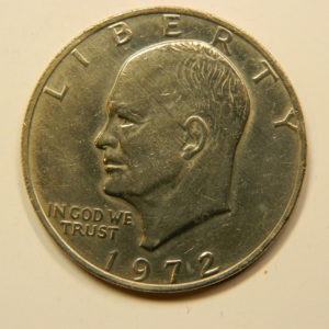 1 Dollar Eisenhower 1972 SUP++ USA EB90968