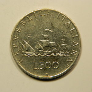 500 Lire 1966R TB+ Italie Argent 835 °/°° EB90992