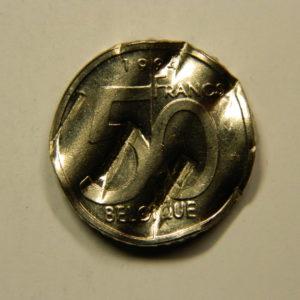 5 Francs Albert II 1994 SUP Difformée Belgique EB91001