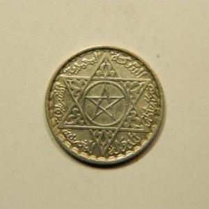 100 Francs 1372H-1953 SUP  Argent 720°/°° MAROC EB91040