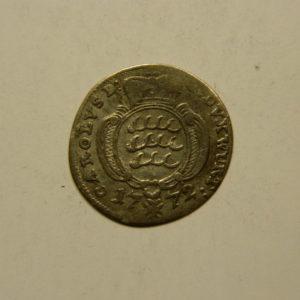 1/48 Thaler Wurtemberg 1772 SUP Allemagne Billon   EB91053