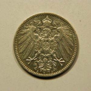 1 Mark Wilhem II 1915A SUP Allemagne Argent 900 °/°°  EB91059