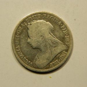 1 Shilling Victoria 1894 TB+ Royaume Uni Argent 925 °/°° EB91060