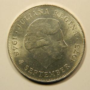 10 Gulden Juliana 1973 SPL Pays Bas Argent 720 °/°° EB91065
