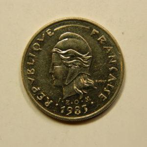 10 Francs Nouvelle Calédonie 1983 SUP EB91086