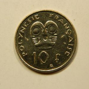 10 Francs Océanie Polynésie Française 1983 SUP EB91087