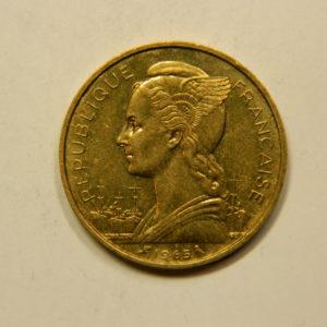 20 Francs Cote Française Des Somalis 1965 SUP EB91089