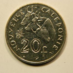 20 Francs Nouvelle Calédonie 1991 SUP- EB91091