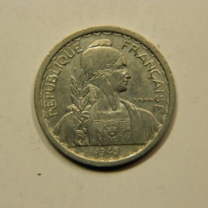 10 Cent. Indochine Française 1945 TTB EB91101