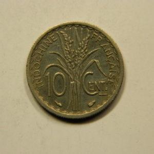 10 Centimes Indochine Française 1939 TTB+ EB91104
