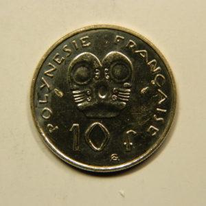 10 Francs Océanie Polynésie Française 1986 FDC EB91111