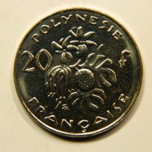 20 Francs Océanie Polynésie Française 2009 SPL EB91112