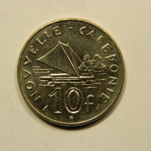 10 Francs Nouvelle Calédonie 1983 SPL EB91113