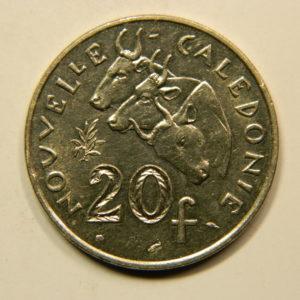 20 Francs Nouvelle Calédonie 1986 SUP+ EB91114