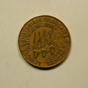 5 Francs Afrique Equatoriale Fr1958 SUP EB91115