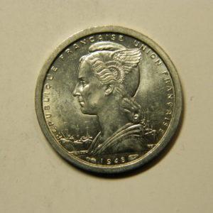 1 Franc Afrique Equatoriale Française 1948 SPL EB91119