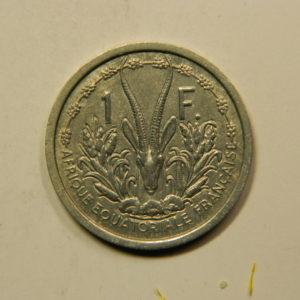 1 Franc Afrique Equatoriale Française 1948 SUP EB91120