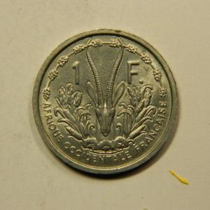 1 Franc Afrique Equatoriale Française 1955 SUP EB91121