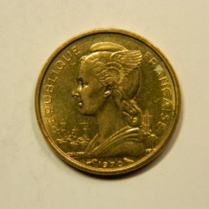 10 Francs Afrique Territoire Afars Issas Djibouti 1970 SUP EB91123