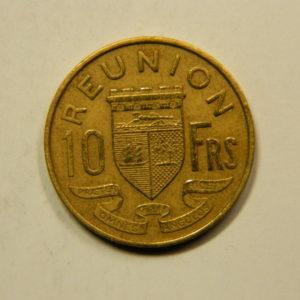 10 Francs Afrique Ile de la Réunion 1964 SUP EB91124