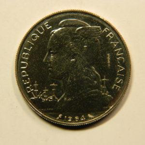 100 Francs Afrique Ile de la Réunion 1964 FDC EB91126