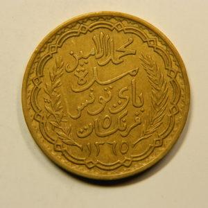5 Francs TUNISIE 1946 SUP EB91129
