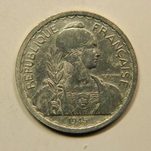 20 Centimes Indochine Française 1945 SUP EB91132