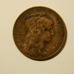 5 Centimes Daniel DUPUIS 1915 TB+  EB90155
