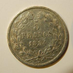 5 Francs Louis-Philippe Ier 1834T TTB EB90162
